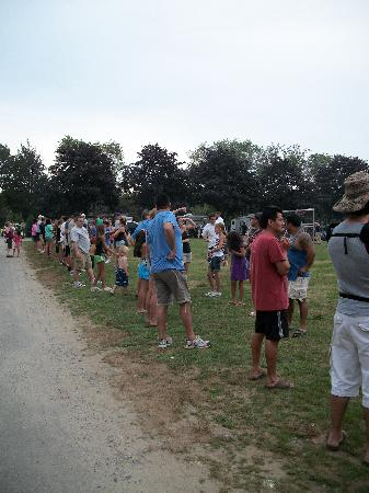 Strawberry Park Resort: Egg Toss ready to begin