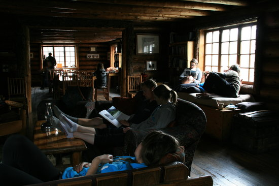 Skoki Lodge: Inside Skoki