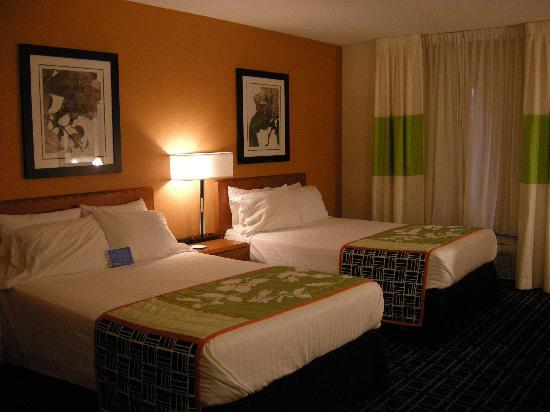 Fairfield Inn Sandusky: Double room