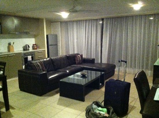 Hervey Bay Waterfront Apartments: Lounge
