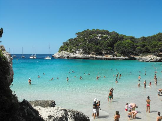 Punta Prima, Spagna: Cala Mitjana - MINORCA