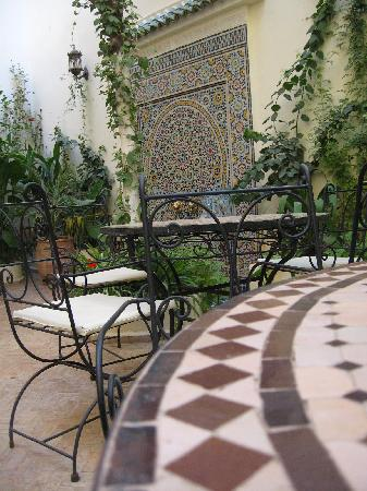 Riad Jardin Chrifa: in the garden