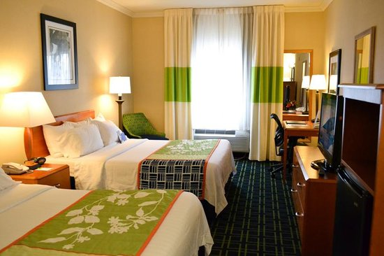 Fairfield Inn Seatac Airport: Two Queen Beds