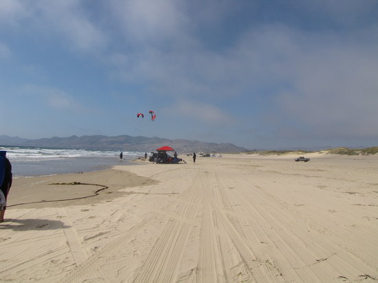 Pismo State Beach Oceano Campground: The beach