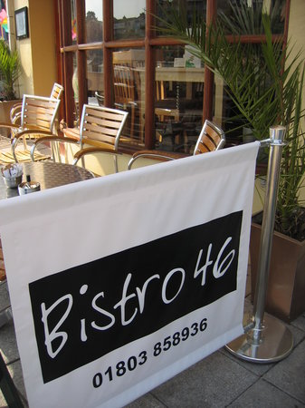 Bistro 46 in Brixham