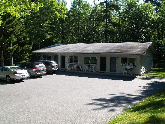Bar Harbor Motel: Accommodation Block