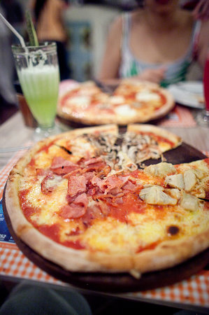 Legian, Indonesia: The pizza