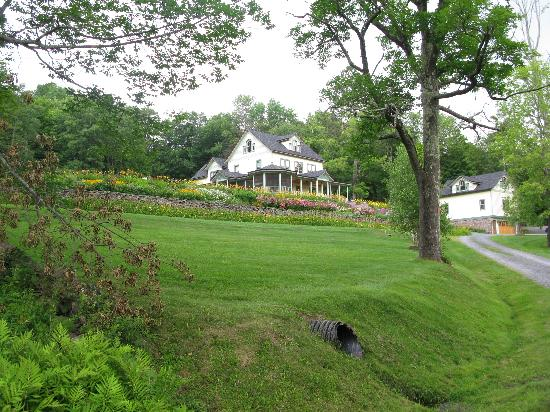 Breezy Hill Inn: The view from the road