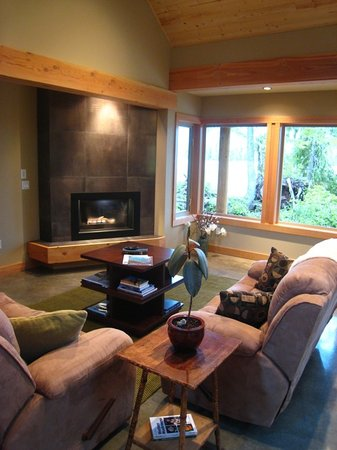 Black Bear Guesthouse: Guest living room
