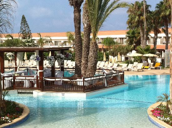 Wedding Reception Venue Centre Of Adult Pool Picture Of Olympic Lagoon Resort Ayia Napa