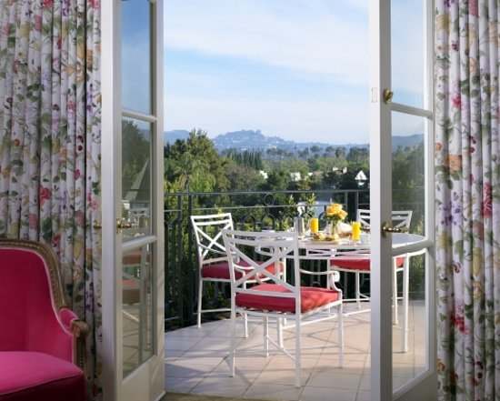 The Peninsula Beverly Hills: Superior Suite Terrace