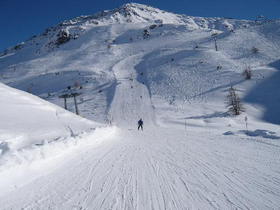 La Thuile, Italia: Uncrowded Slopes