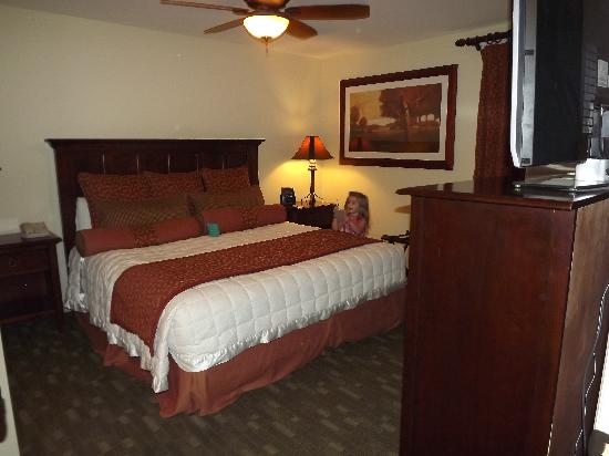 Hill Country Inn & Suites: Master suite