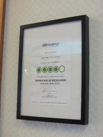 Hotel Indigo Toronto Airport: TripAdvisor rating from 2010