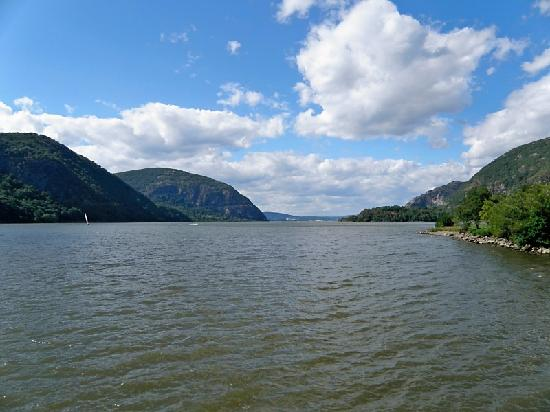 This is the view from Cold Spring waterfront