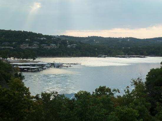 View of Tablerock Lake - Lodgetable rock village