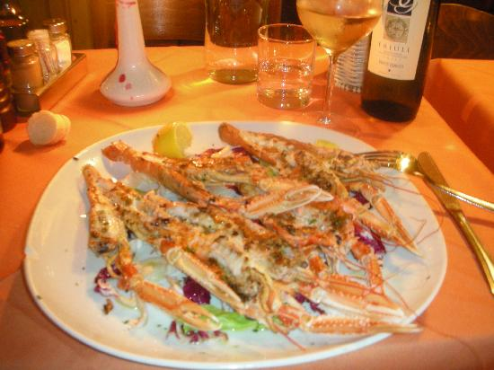 Grilled Scampi - Picture of Diana, Venice - TripAdvisor