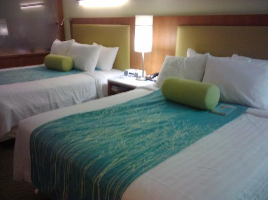 SpringHill Suites Houston The Woodlands: Bed