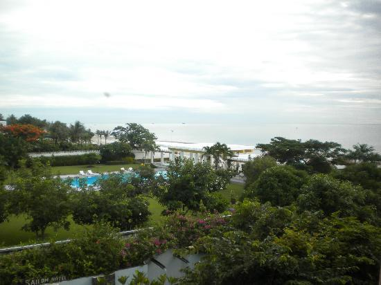Sailom Hotel: Sea view from bedroom