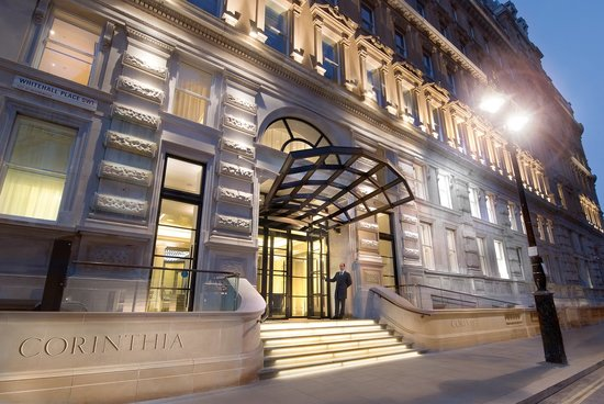 Corinthia Hotel London: Front Entrance night