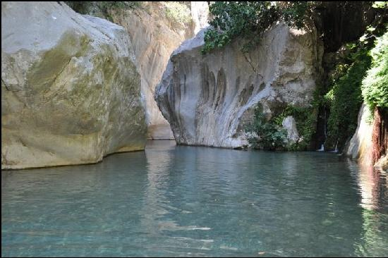 Goynuk Canyon - Picture of Canada Hotel Cirali Olympos ...