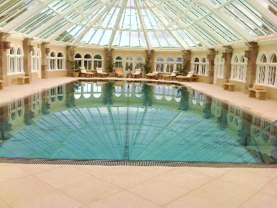 "Dornoch, UK: ""private"" swimming pool"