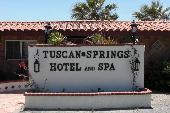 Tuscan Springs Hotel and Spa: resort AND spa