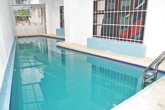 Casa Cuba Hostal S.A.: Pleasant swimming pool