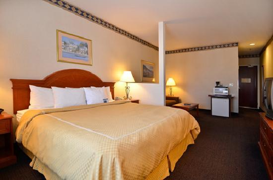 Comfort Suites - Oakley: King Room