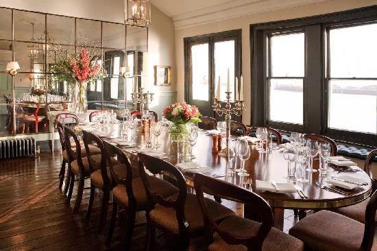 The river room private dining room for up to 16 guests for Best private dining rooms city of london