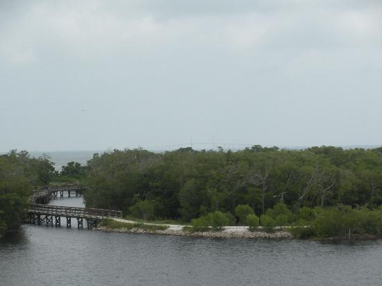 Bradenton, : One of the wooden bridges