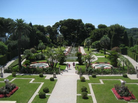 Der park der villa ephrussi de rothschild picture of for Jardin villa rothschild
