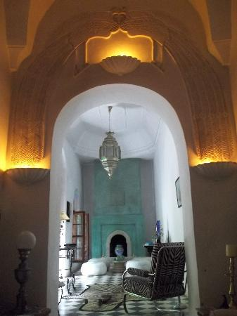 Riad Mesc el Lil: Salon