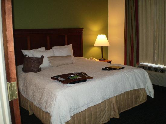 Hampton Inn and Suites Valley Forge/Oaks: Huge bedroom