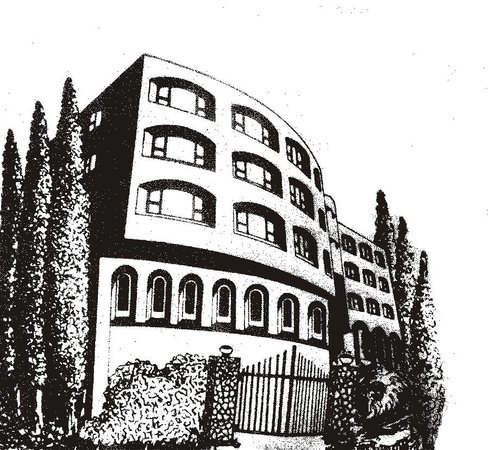 Hotel Khems: Exterior Sketch