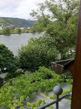 Beilstein, Germany: room with a view !