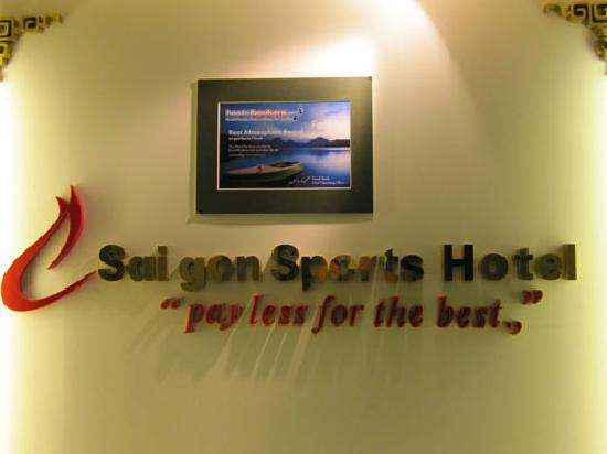 Saigon Sports Hotel: Reception Saigon Sports 1 Hotel