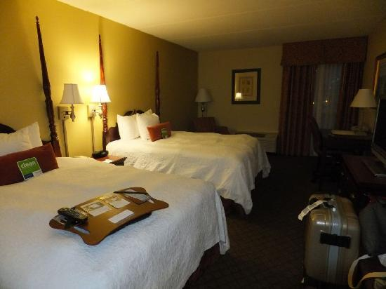 Hampton Inn Columbia - Downtown Historic District: SUPER comfortable beds!!