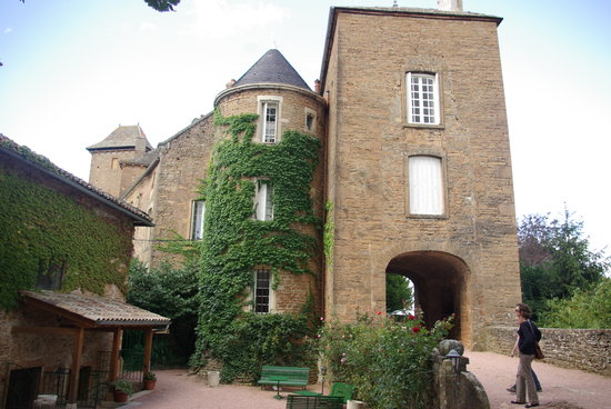 Hurigny, : Le chateau