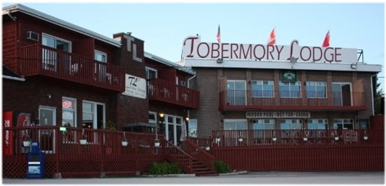The Hub of the Tub: Tobermory NIGHTMARE Lodge