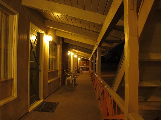 Silver Spur Motel: first floor