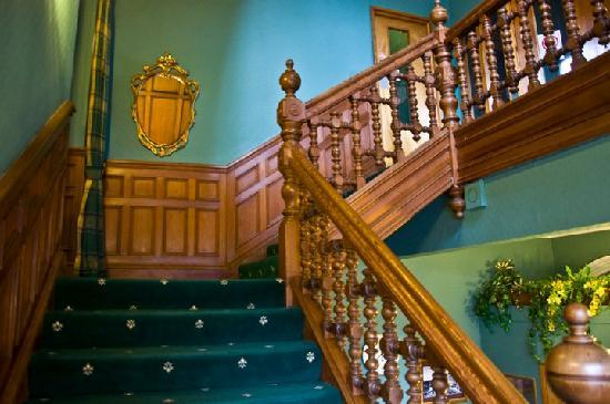 Wellpark House: The staircase