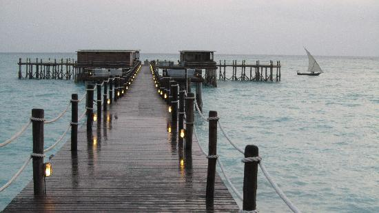 Essque Zalu Zanzibar: The Jetty is most incredible and a HUGE feature of ZALU