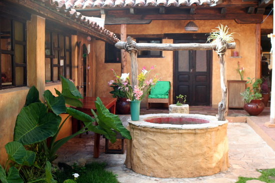 Posada del Abuelito: Traditional Mexican courtyard