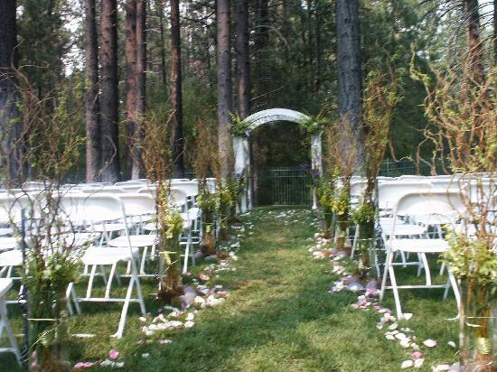 We Do Both The Wedding Ceremony And Receptions On Site