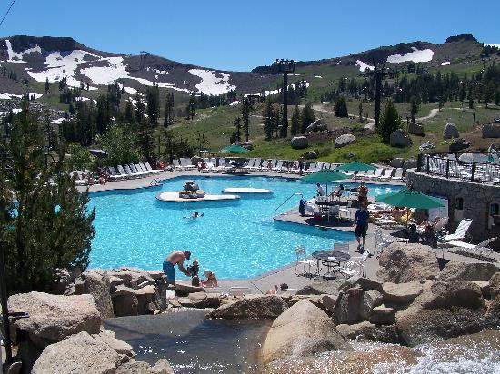 Pool At The Top Of The Mountain Picture Of Red Wolf Lodge At Squaw Valley Olympic Valley