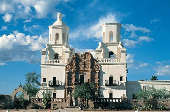Arizona: Mission San Xavier Sel Bac