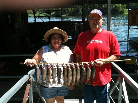 Angler's White River Resort: Great fishing experience - awesome time.