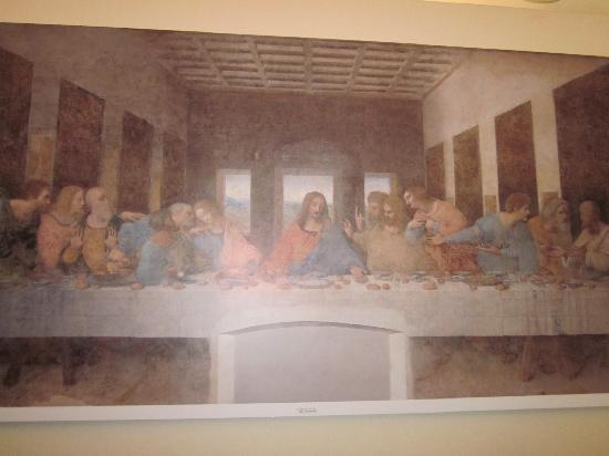 Images of The Last Supper, Milan