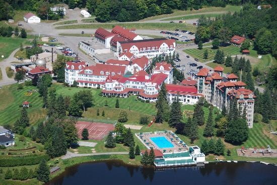 Dixville, NH: Overview of The Balsams from Table Rock